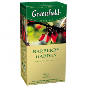 Чай Greenfield Barberry Garden 25п*2г